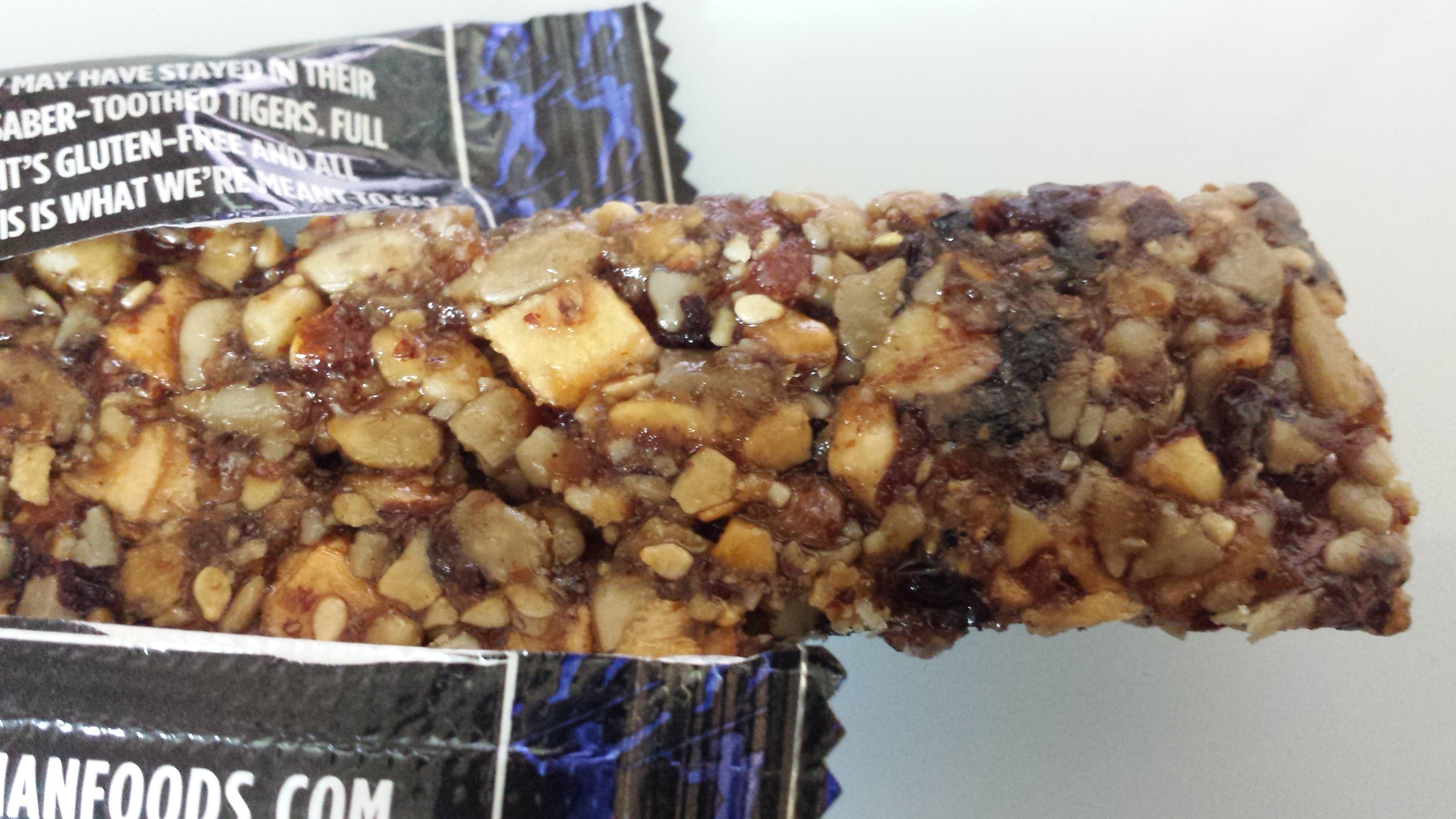 Caveman Food Bars : The caveman bar not a diet food fighting